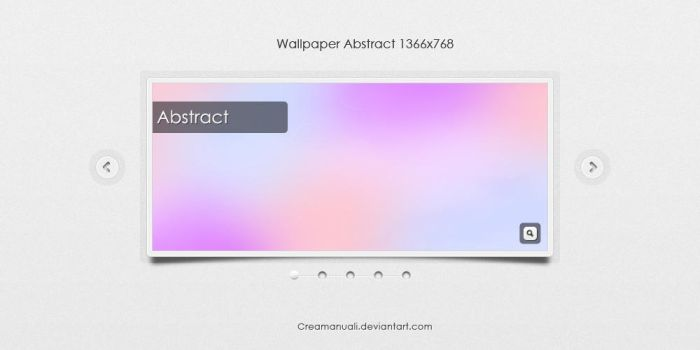 wallpaper Abstract 01 by creamanuali