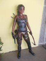 Life-Size Lara Croft Project - Almost Done by Sabi996