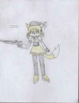Gift- Mami Tomoe's Mobian form by DisturbedToxicReapa