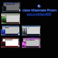 6 new themes by sounddevil13