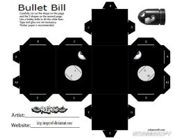 Bullet Bill Cubee by Respeto6