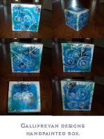 Doctor Who Gallifreyan box by DragonsAndDreamscape
