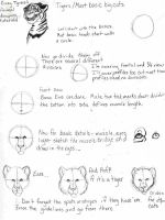 Big Cat Heads Tutorial 1 by AngelTigress03