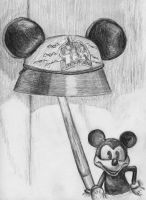 Mouse Ears and Mickey Lamp by britmodtokyo