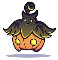 Pokeddexy Challenge Day 09 - Pumpkaboo! by IncreasinglyCoherent