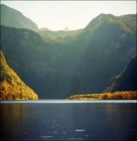 Day's last rays - Konigssee by jup3nep