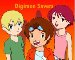 Digimon savers by jenny210