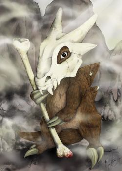 Cubone by terrimo