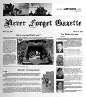 Never Forget gazette BW by Chrippy