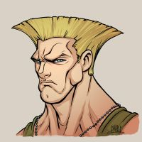 Guile Color WIP by Chadwick-J-Coleman