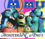 MonsterInc Pngs by AnGieCatWilliams