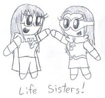 Life Sister Chibis by SonicFan3