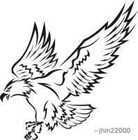tribal eagle 2 by jhin22000