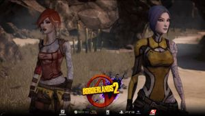 Borderlands 2 - A Tale of Two Sirens by TacticianMark