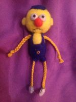 Don't Hug Me I'm Scared - Yellow Guy Plushie by Jack-O-AllTrades