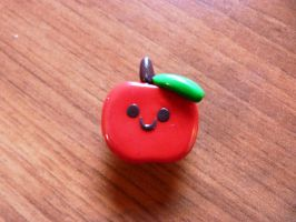polymer clay apple 2 by RODOTHEA