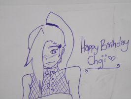 HAPPEH BIRFDAH CHOJI! by seriia