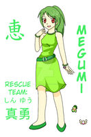 PMD1 - Megumi by SilverMoon249