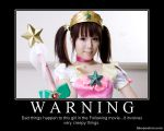 DM poster- WARNING by riderkid