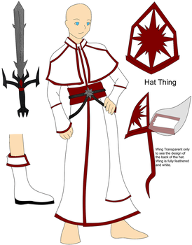 Cleric Clothes White Reference by RavenTheraphosa