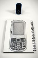 Samsung Intensity drawing by Rollingboxes
