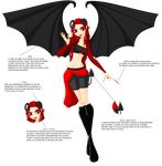 fiche de transformation demon troisieme forme by Beatrice-Dragon-Team