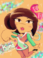 Kuma. After hrs. by Chrissy-Christine