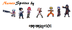 Multi Naruto Sprites by emomage101