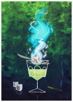 Absinth fire by PaDubs