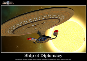 Ship of Diplomacy by DavidAkerson