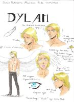 (Maximum Ride characters) Dylan by MaximWolf