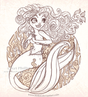 Mermaid... by kinkei