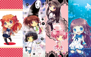 Fanart Bookmarks by Pluvias