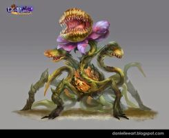 Blueteagames Monster By Daniellee by Danielllee