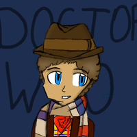 Art Trade: The 4th Doctor by RMAfan101