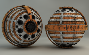 Armoured Ball XLV District 9 by Dracu-Teufel666
