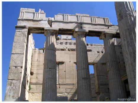 Acropolis 04 The Propylaea by Kevrekidis