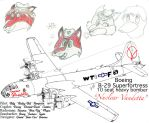 Boeing B-29 Superfortress with crew Stage 1 by DBsTreasure