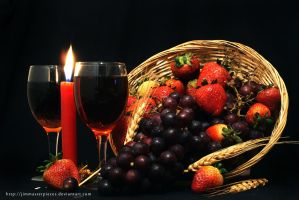 (Bodegon) fruits composition by Jimmasterpieces