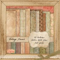 20 Vintage Textures by psdnactions
