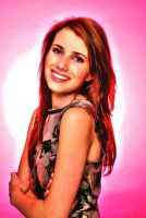 Emma Roberts HDR by nicollearl