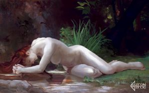 MasterStudy of Biblis by WilliamAdolphe Bouguereau by AaronGarcia