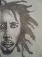 bob marley by iuliannecula20