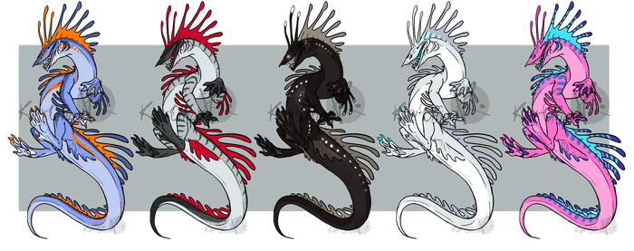 Leviathan Adoptables [SOLD OUT] by Kapu-Official