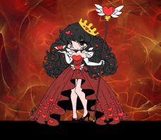 Queen of Hearts by Yampuff by Catsie95