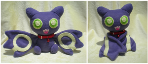 Lumiar plushie by Foureyedalien