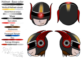 Helmet Design Contest Entry by yadaman