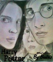 Trinity Harry Potter - Desenho-Drawing by BeatrizLoveMyJesus