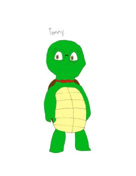 Tommy the Turtle by Charbunstar