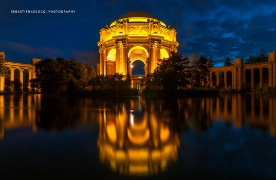 San Francisco Reflection by lux69aeterna